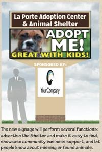 Animal Shelter Advertisement