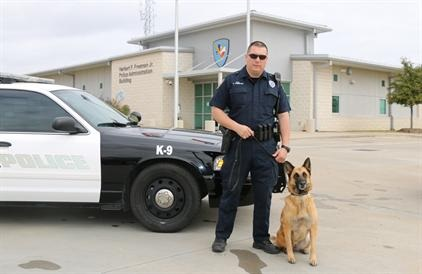 K-9 Team Arenivas and
