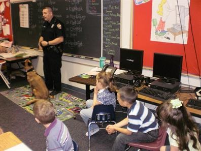K-9 Team of Officer Arenivas and