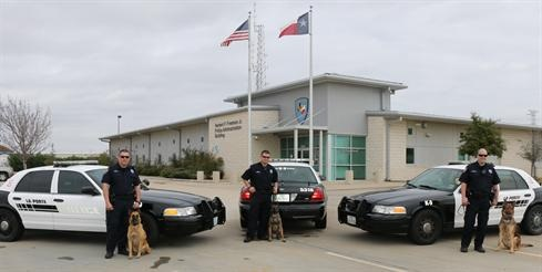 La Porte Police K-9 Officers