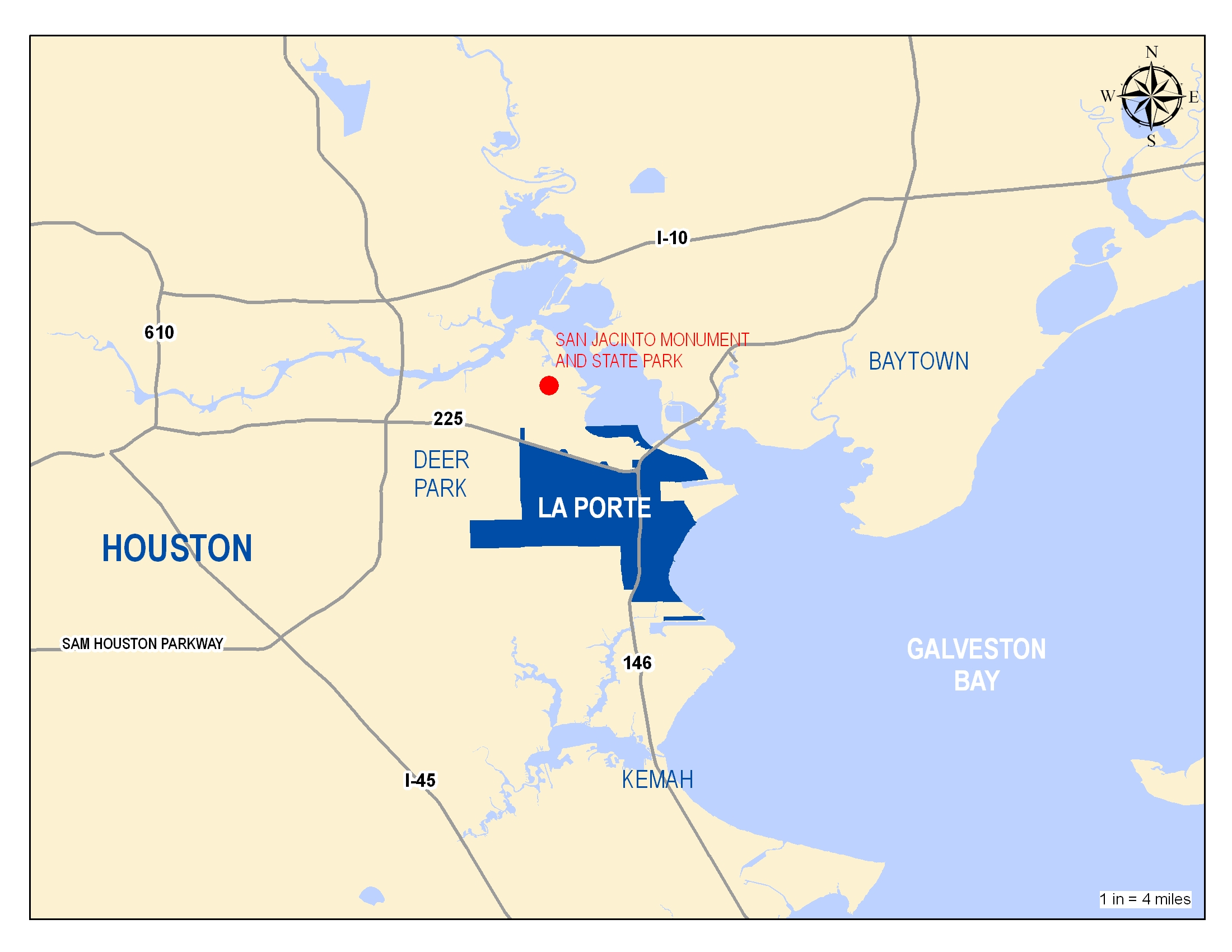 La On Us Map.Location La Porte Tx Official Website