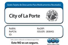 Spanish Prescription Card Sample