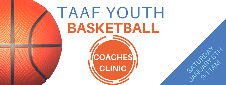 TAAF Basketball Coaches Clinic FBCover