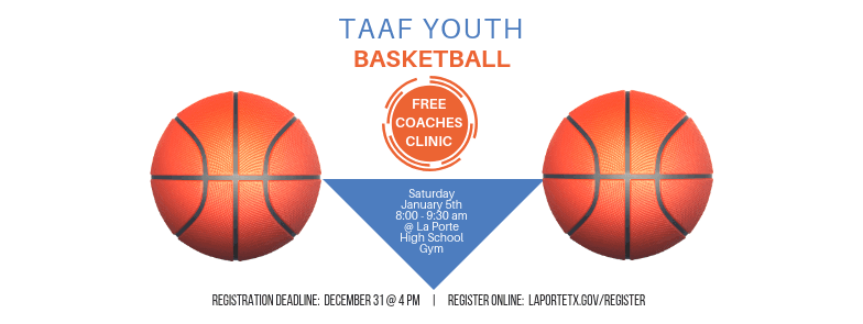 TAAF Basketball Coaches Clinic Event Cover