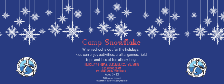 Camp Snowflake Event Cover
