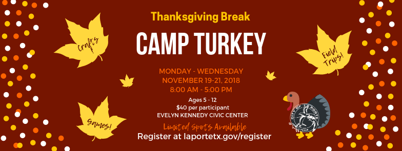 Camp Turkey Event Cover