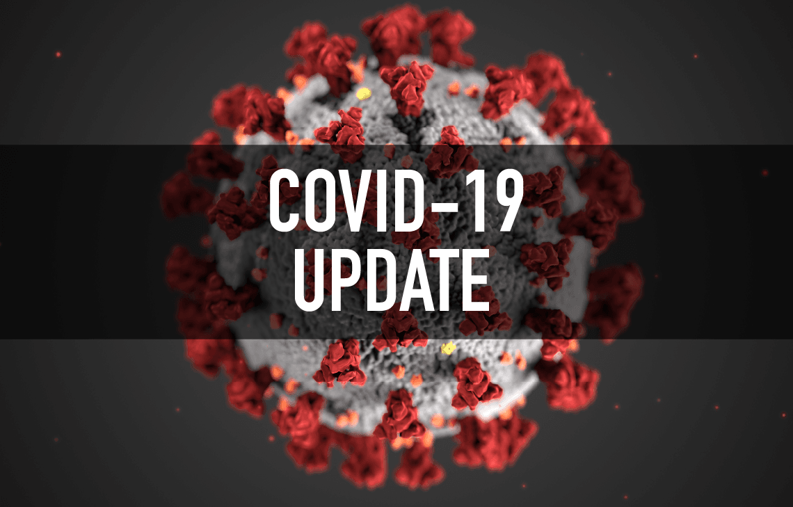 COVID-19 Newsflash Graphic