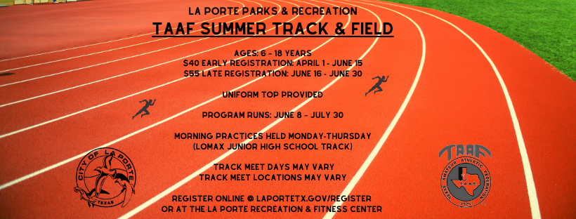 WEBSITE BANNER SUMMER TRACK and FIELD 2020